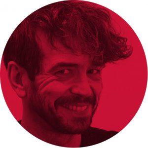 Klaas Verplancke portrait, illustrator, Mapping project
